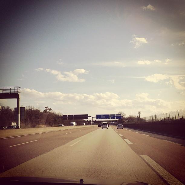 Auf dem Heimweg...