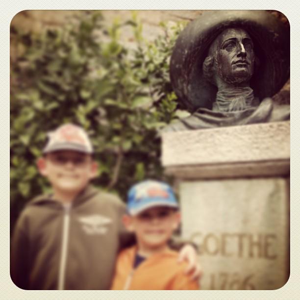 Goethe war hier... und wir auch!