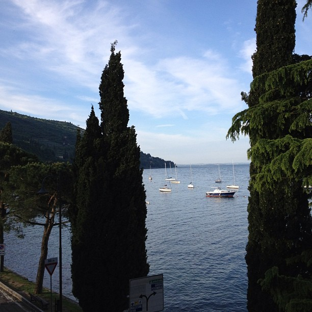 Guten Morgen Garda See