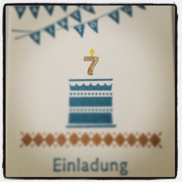 Geburtstagseinladung - Vorschau