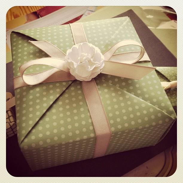 Origamibox für heute Nachmittag