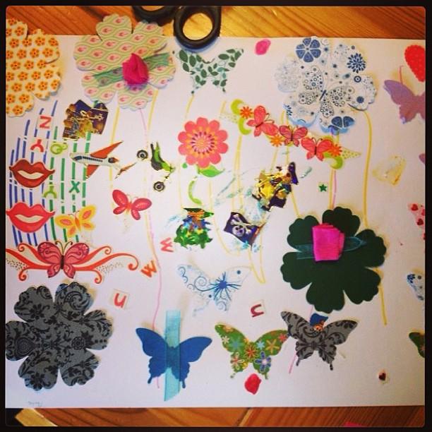 Heute lasse ich wegen Sommergrippe andere kreativ sein...