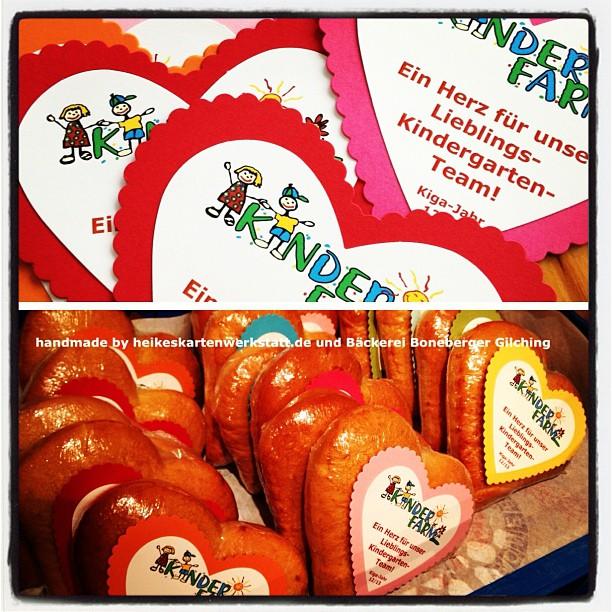 Geschenke für's Kindergarten Team