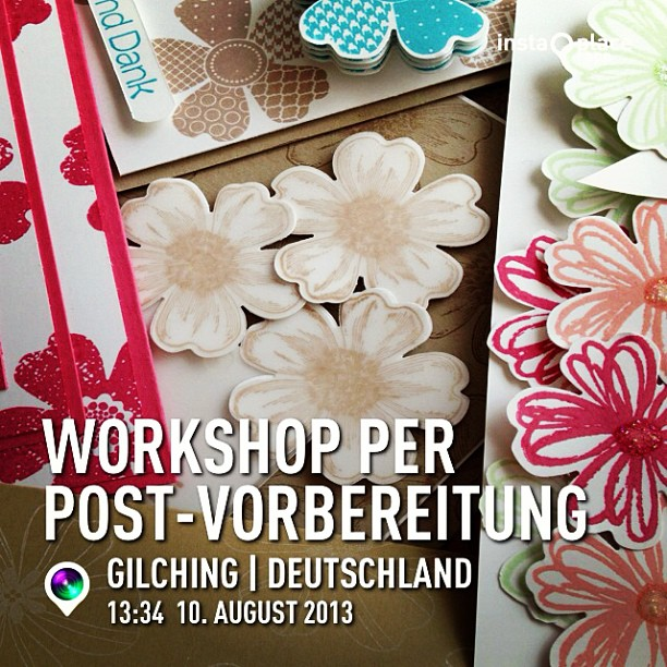 Workshop per Post-Vorbereitungen