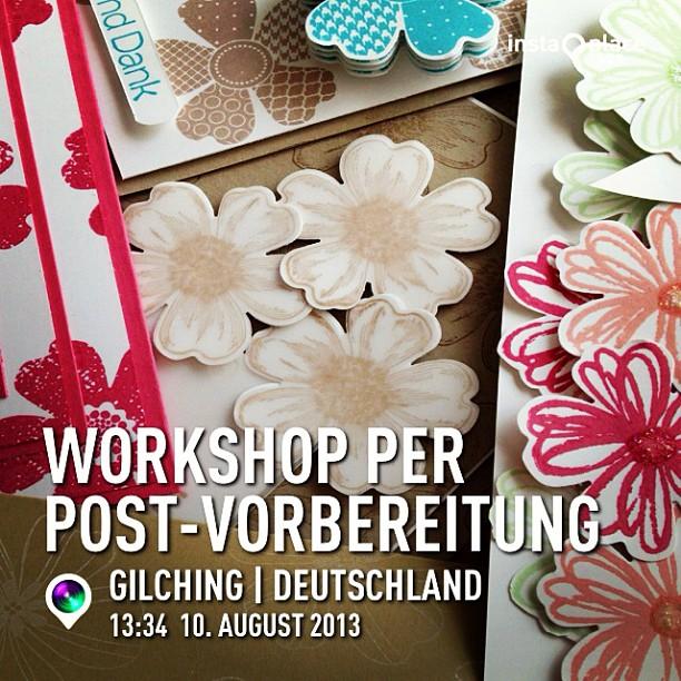 Workshop per Post-Vorbereitungen