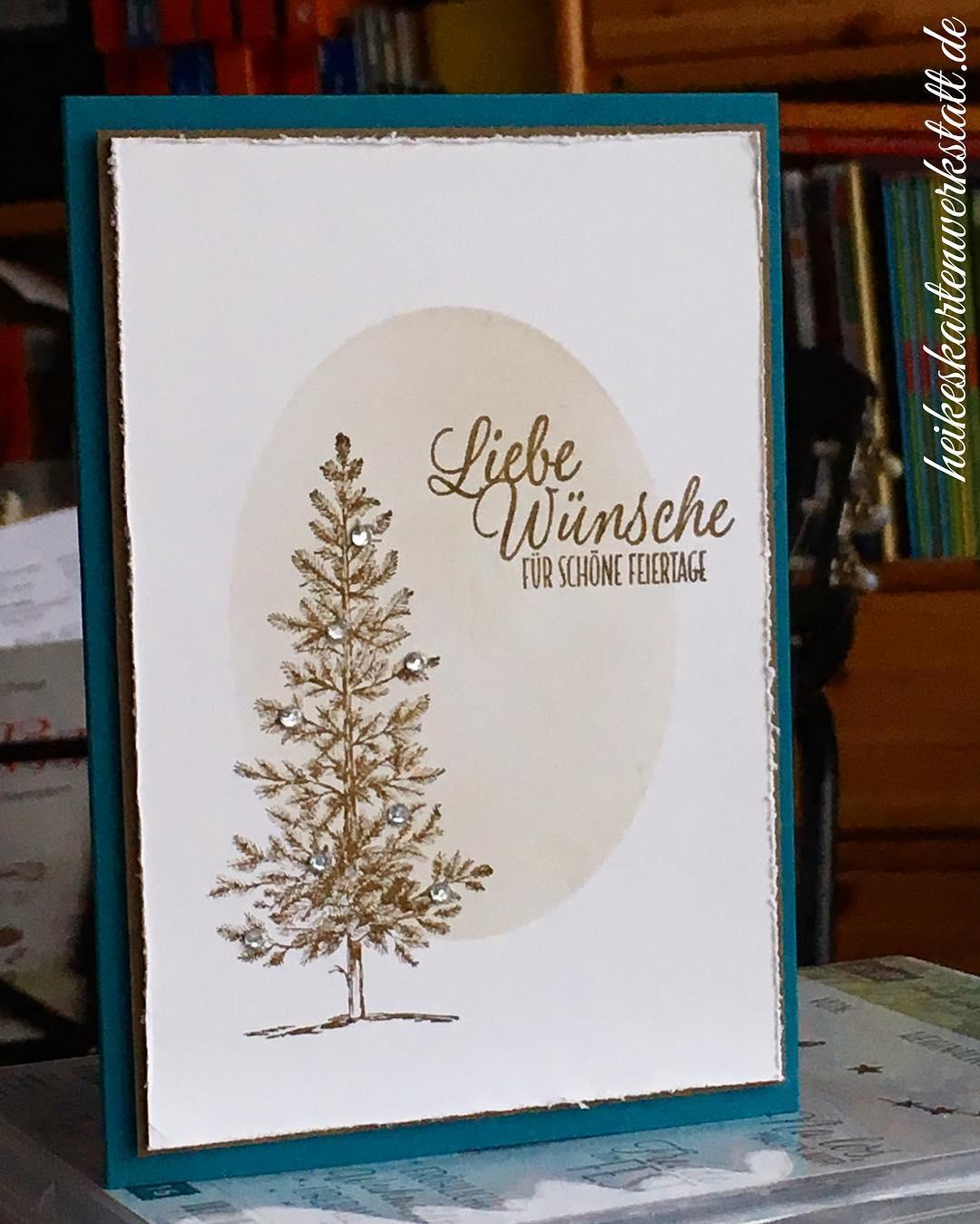 War wieder sch?n weihnachtsworkshop heikeskartenwerkstatt stampinup Weiterlesen rarr