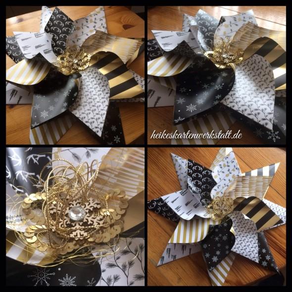 weihnachts origami stern heikes kartenwerkstattheikes. Black Bedroom Furniture Sets. Home Design Ideas