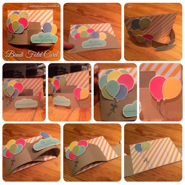 Bendi Fold Balloon Card