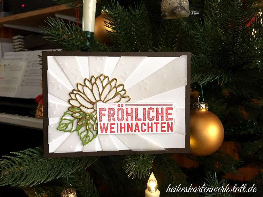 Fröhliche Weihnachten aus der Kartenwerkstatt... ???