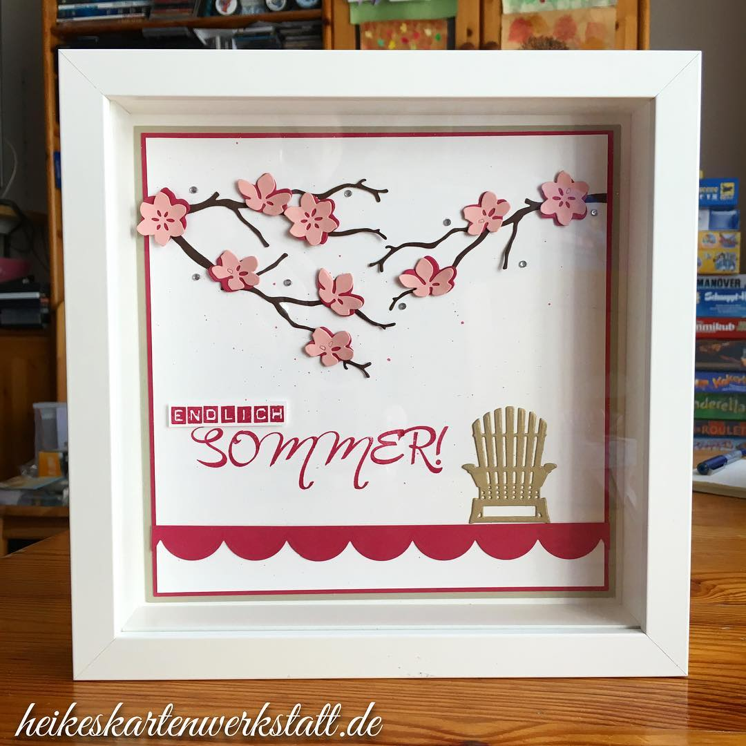 Endlich Sommer! heikeskartenwerkstatt stampinup workshopnachlese Weiterlesen rarr