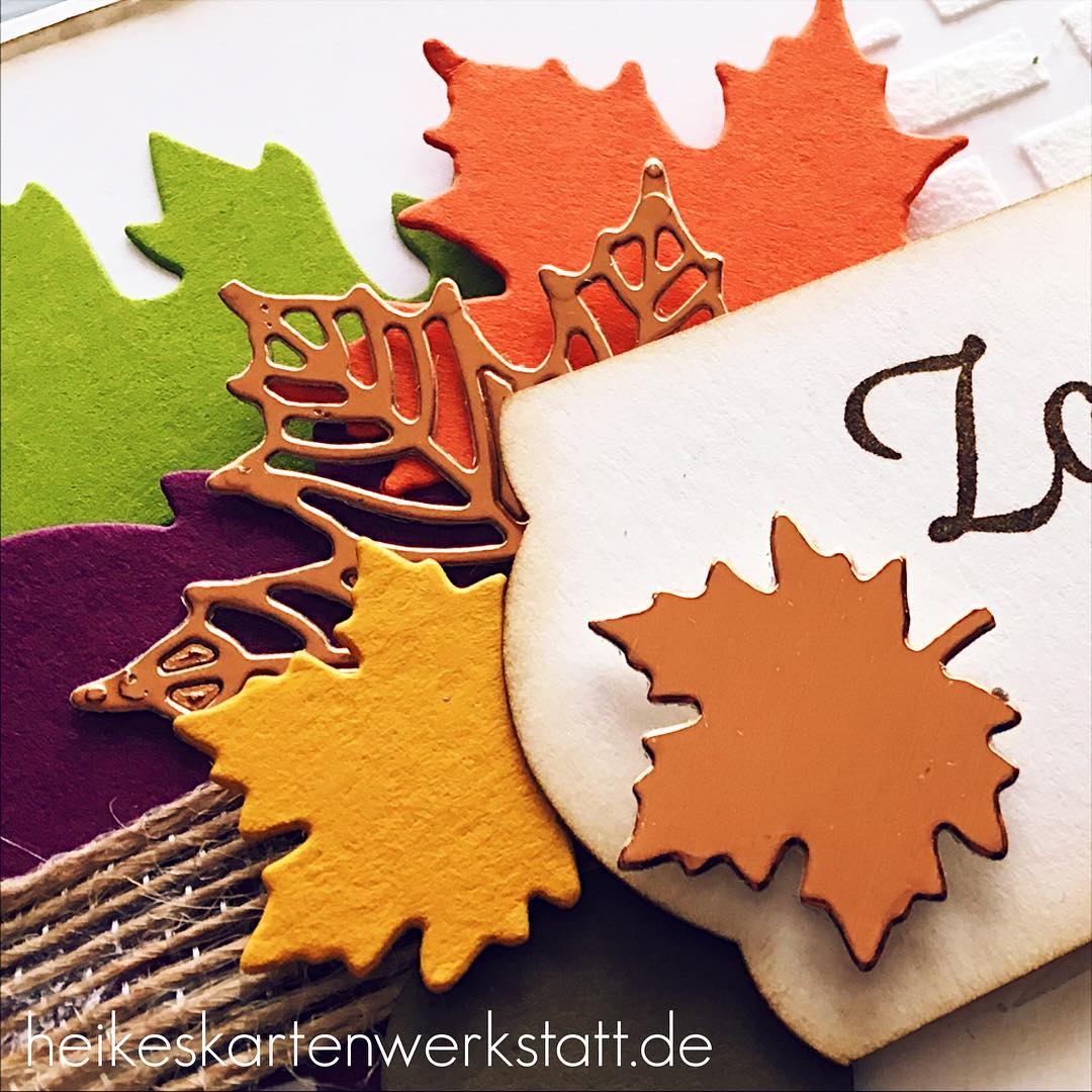 HerbstWorkshop schnwarswieder heikeskartenwerkstatt stampinup Am Wochenende werde ich Euch berichtenhellip